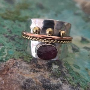 Jewelry - Pink Tourmaline Sterling Silver Ring